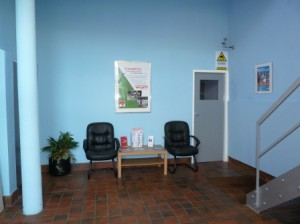 Ground Floor Reception Area