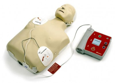 Resusci Annie and AED Machine