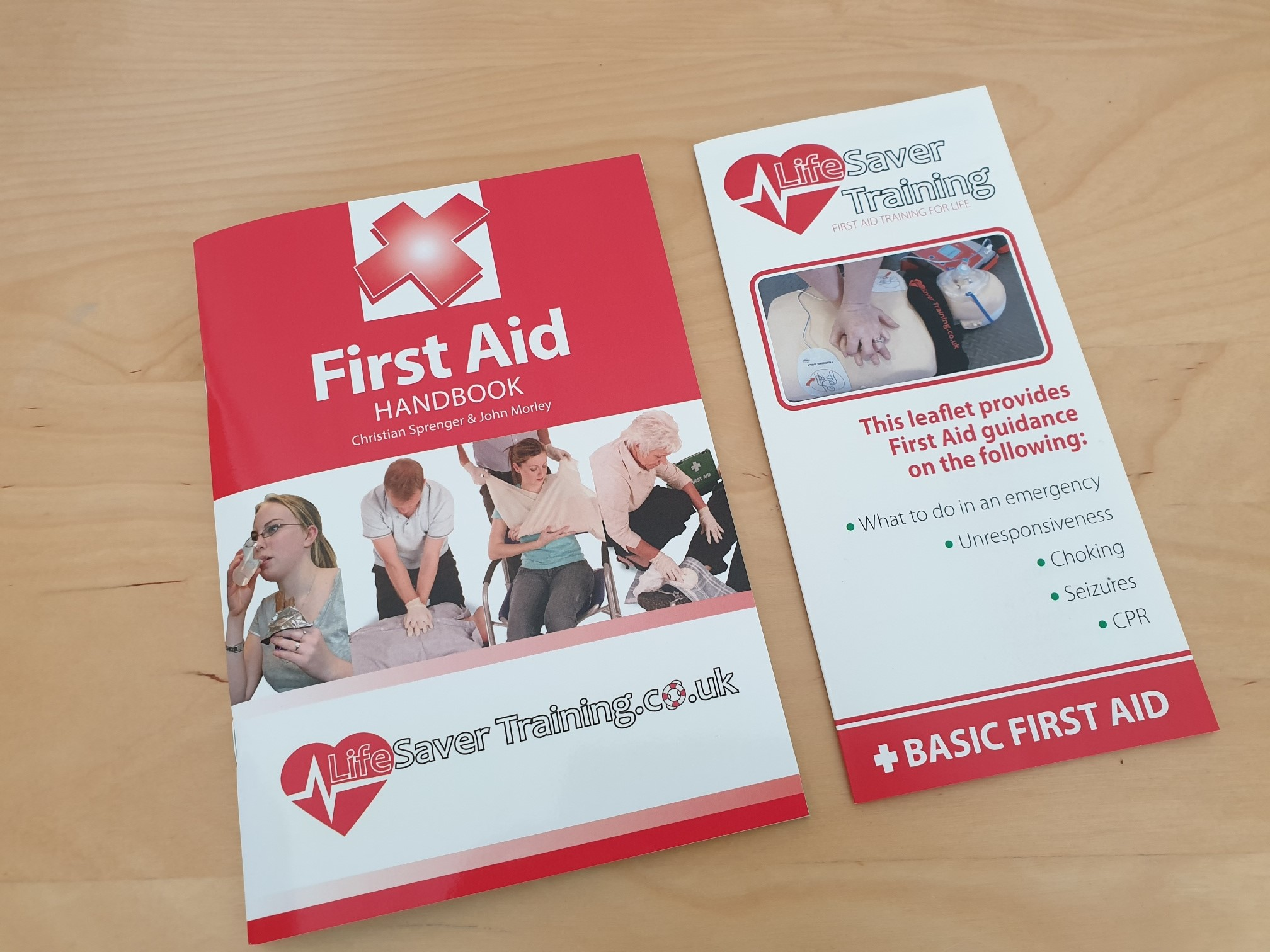 Lifesaver first aid manual / leaflet